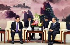 Đoàn đại biểu Đảng Cộng sản Việt Nam làm việc tại Trung Quốc