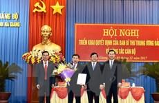 Triển khai quyết định của Ban Bí thư về công tác cán bộ tại Hà Giang