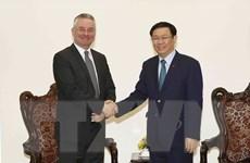 Phó Thủ tướng tiếp Phó Chủ tịch Ủy ban Thương mại quốc tế của EP