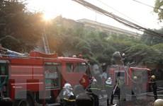 Hà Nội: Cháy lớn tại tổ hợp nhà hàng, quán càphê số 5 Phan Kế Bính