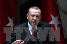 Tổng thống Thổ Nhĩ Kỳ bắt đầu chuyến công du lịch sử tới Hy Lạp