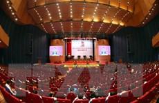 [Photo] Khai mạc Phiên thứ nhất Đại hội Đại biểu toàn quốc Đoàn TNCS