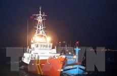 Cứu nạn kịp thời 6 ngư dân trên tàu đánh cá bị chìm