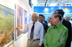 Hội Mỹ thuật Việt Nam đóng góp tích cực cho nền mỹ thuật hiện đại