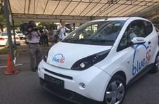 Dịch vụ chia sẻ xe điện làm thay đổi bộ mặt giao thông ở Singapore
