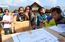 Tiếp tục hoạt động chia sẻ với gia đình phóng viên Đinh Hữu Dư