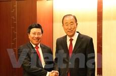 Phó Thủ tướng, Bộ trưởng Phạm Bình Minh thăm chính thức Hàn Quốc