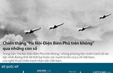 """[Infographics] """"Hà Nội-Điện Biên Phủ trên không"""" qua những con số"""