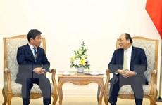 Thủ tướng tiếp Bộ trưởng Bộ Tái thiết kinh tế Nhật Bản