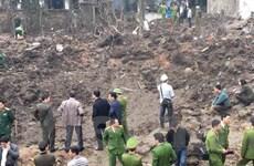 Tạm giữ chủ kho phế liệu để phục vụ điều tra vụ nổ ở Bắc Ninh
