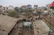Đã thu gom được 3.200kg đầu đạn sau vụ nổ kinh hoàng tại Bắc Ninh