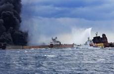 Vớt được hộp đen của tàu chở dầu Iran gặp nạn tại Trung Quốc