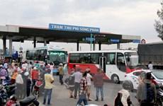 Giảm giá vé cho các phương tiện khu vực gần BOT Sông Phan từ 16/1