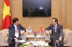 Phó Chủ tịch Quốc hội tiếp Đoàn đại biểu Quốc hội Hàn Quốc