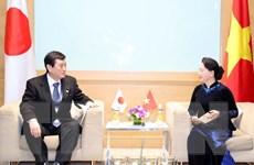 Chủ tịch Quốc hội Nguyễn Thị Kim Ngân tiếp Trưởng đoàn Nghị viện Nhật