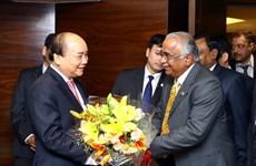 Thủ tướng tiếp các tập đoàn, doanh nghiệp hàng đầu của Ấn Độ