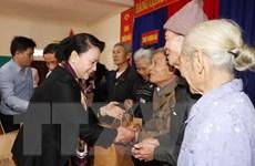 Chủ tịch Quốc hội Nguyễn Thị Kim Ngân làm việc tại Hà Tĩnh