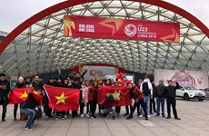 Đề nghị Trung Quốc hỗ trợ cấp phép cho các chuyến bay cổ vũ U23