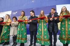 Khánh thành trang trại bò sữa cao sản công nghệ cao đầu tiên tại Nga