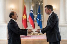 Đại sứ Việt Nam trình Quốc thư lên Tổng thống Cộng hòa Slovenia