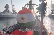Ấn Độ hạ thủy tàu ngầm lớp Scorpene thứ 3 mang tên Karanj