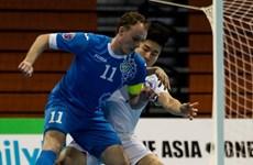 """""""Bắt giò"""" đối thủ tứ kết Futsal châu Á của đội tuyển Việt Nam"""