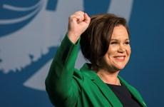 CH Ireland: Bà Mary Lou McDonald làm Chủ tịch Đảng Sinn Fein