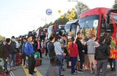 Bình Dương: Chuyến xe nghĩa tình đưa gần 4000 công nhân về quê