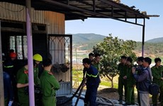 Hỏa hoạn thiêu rụi hai căn nhà cùng toàn bộ tài sản tại Đà Lạt