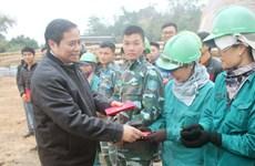 Đồng chí Phạm Minh Chính thăm, chúc Tết tại tỉnh Quảng Ninh