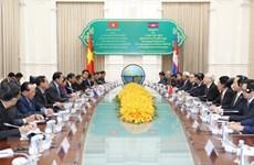 Tiếp tục đà phát triển của mối quan hệ láng giềng Việt Nam-Campuchia