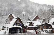[Photo] Làng cổ Shirakawago đẹp lạ lùng trong mùa Đông tuyết trắng