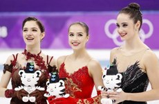 VĐV 15 tuổi của Nga đoạt huy chương vàng trượt băng nghệ thuật nữ
