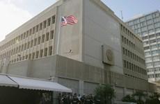 Người Palestine xuống đường phản đối kế hoạch di chuyển Đại sứ quán Mỹ