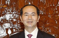 Chủ tịch nước Trần Đại Quang trả lời phỏng vấn báo chí Ấn Độ