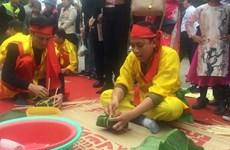 Hội thi bánh chưng, bánh giầy - điểm nhấn lễ hội Côn Sơn, Kiếp Bạc