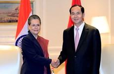 Hoạt động của Chủ tịch nước Trần Đại Quang trong chuyến thăm Ấn Độ