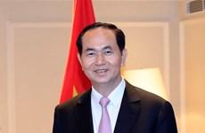 Chủ tịch nước Trần Đại Quang thăm cấp Nhà nước tới CHND Bangladesh