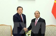 Thủ tướng Nguyễn Xuân Phúc tiếp Phó Chủ tịch Tập đoàn Lotte
