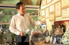 """""""Bảo tàng"""" hơn 1.000 cổ vật quý hiếm của thầy giáo Phương"""