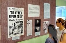 Triển lãm về phản đối cuộc chiến tranh phi nghĩa của Mỹ ở Việt Nam