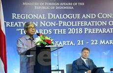 Các nước châu Á-TBD tiếp tục thúc đẩy giải trừ vũ khí hạt nhân