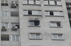Điều tra vi phạm về cháy nổ tại chung cư CT5 khu đô thị Văn Khê