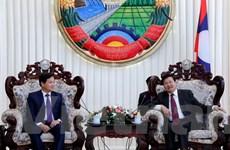 Thủ tướng Lào đánh giá cao sự hợp tác giữa hai cơ quan thanh tra