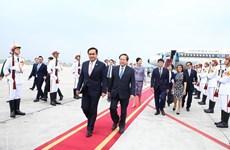 Thủ tướng Nguyễn Xuân Phúc gặp Thủ tướng Thái Lan nhân dịp dự GMS6