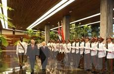 Điện cảm ơn của Tổng Bí thư gửi đồng chí Raul Castro Ruz