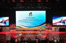 Bài phát biểu của Thủ tướng tại Phiên họp toàn thể GMS 6