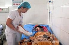 Thái Nguyên: Ba người thương vong do hỏa hoạn khi đốt thực bì
