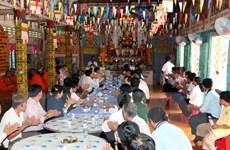 Chủ tịch MTTQ chúc mừng Tết Chôl Chnăm Thmây của đồng bào Khmer