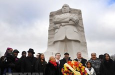 Sự kiện quốc tế 2-8/4: Nước Mỹ rung chuông tưởng nhớ Luther King
